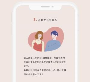 ステップ3:恋人成立